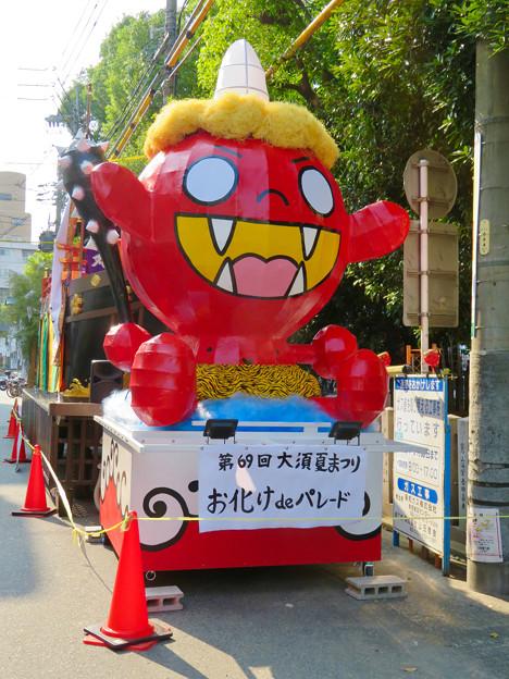 大須夏まつり 2019 No - 10:おばけパレード用の鬼型の山車
