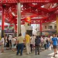 大須商店街:映画「ライオンキング」PRのためライオンになってた招き猫広場の招き猫 - 4