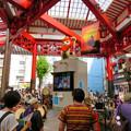 大須商店街:映画「ライオンキング」PRのためライオンになってた招き猫広場の招き猫 - 6