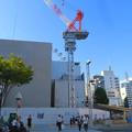 Photos: 名古屋栄の建設現場に設置されてる巨大クレーン - 5