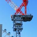Photos: 名古屋栄の建設現場に設置されてる巨大クレーン - 6