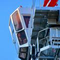 名古屋栄の建設現場に設置されてる巨大クレーン - 8
