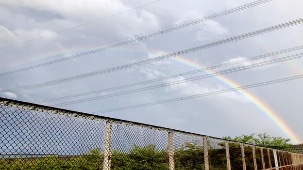 2重の虹が架かった、雨上がりの日(2019年8月14日) - 8