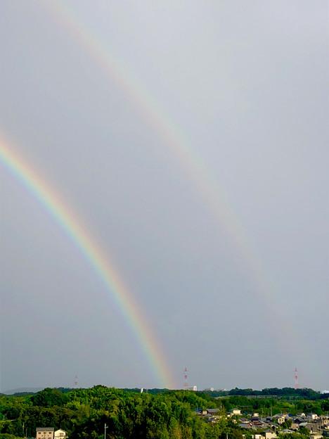 2重の虹が架かった、雨上がりの日(2019年8月14日) - 12