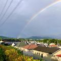 Photos: 2重の虹が架かった、雨上がりの日(2019年8月14日) - 14
