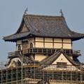 天守保蔵工事中の犬山城(2019年8月18日) - 33