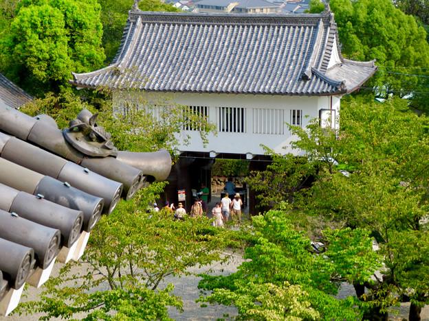犬山城から見た景色 - 6:城門