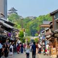 Photos: 真夏のとても暑い日、人通りがいつもより少なかった犬山城下町商店街 - 1