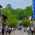 Photos: 真夏のとても暑い日、人通りがいつもより少なかった犬山城下町商店街 - 3