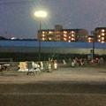桃花台線の桃花台中央公園撤去工事(2019年8月22日):工事部分のフェンスが撤去 - 2