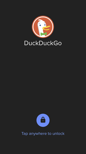 DuckDuckGo Privacy Browser:Touch IDやFace IDで起動をロック可能 - 4