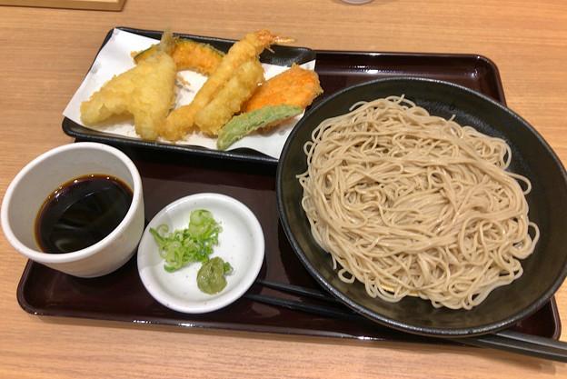 大須商店街:「はね天」の天ぷらソバ