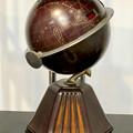 Photos: ナディアパーク:ギャラリーで行われてた「Electric Media ラジオの時代」 - 10(珍しい地球儀型のラジオ「グローブ・ラジオ」)