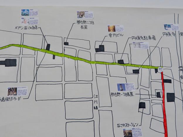 愛知県庁 大津橋分室 - 13:あいちトリエンナーレ会場案内(円頓寺商店街)