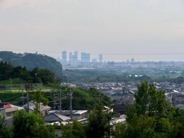 イオン守山店の屋上から見た景色 - 4:名駅ビル群