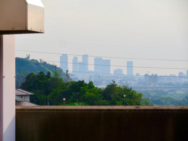 イオン守山店の屋上から見た景色 - 9:名駅ビル群