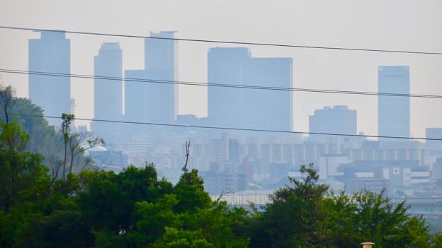 イオン守山店の屋上から見た景色 - 10:名駅ビル群