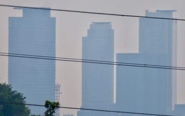 イオン守山店の屋上から見た景色 - 12:名駅ビル群