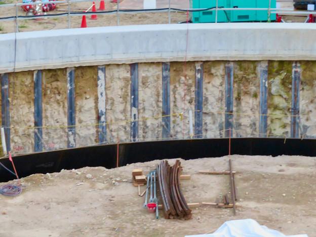 神領車両区近くに建設されてる丸い建造物(2019年9月2日) - 4