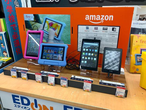 エディオンにAmazon「Kindle」コーナー