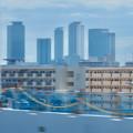 名古屋高速から見た名駅ビル群