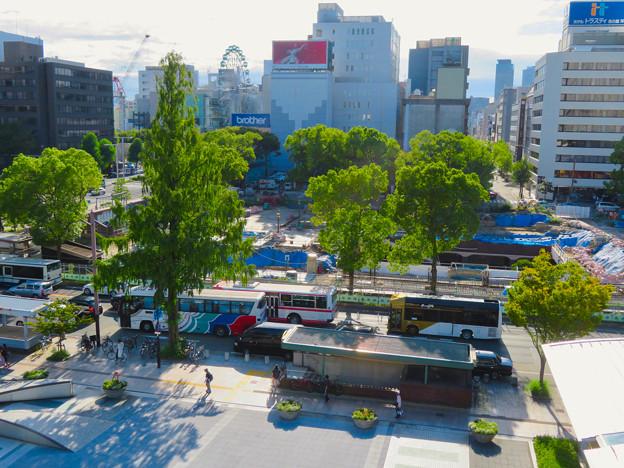リニューアル工事中の久屋大通公園(2019年9月7日) - 4