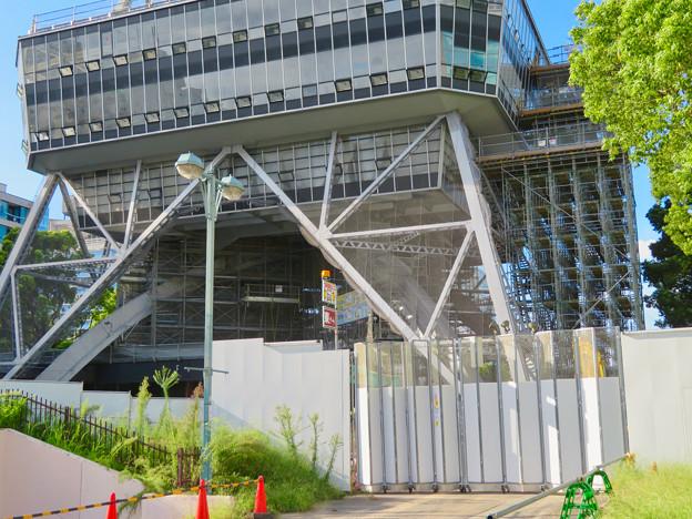 リニューアル工事中の名古屋テレビ塔(2019年9月7日) - 5