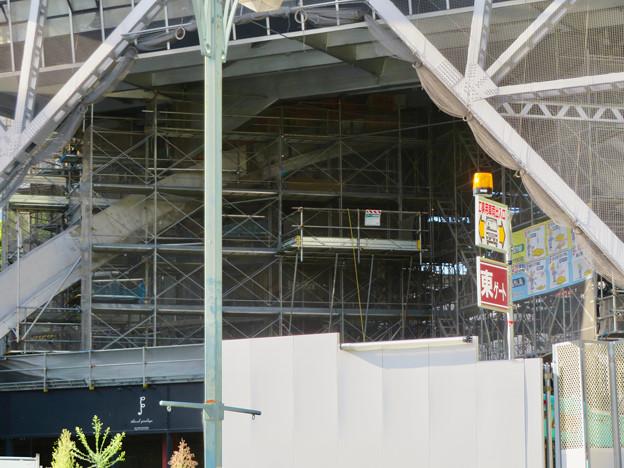 リニューアル工事中の名古屋テレビ塔(2019年9月7日) - 6