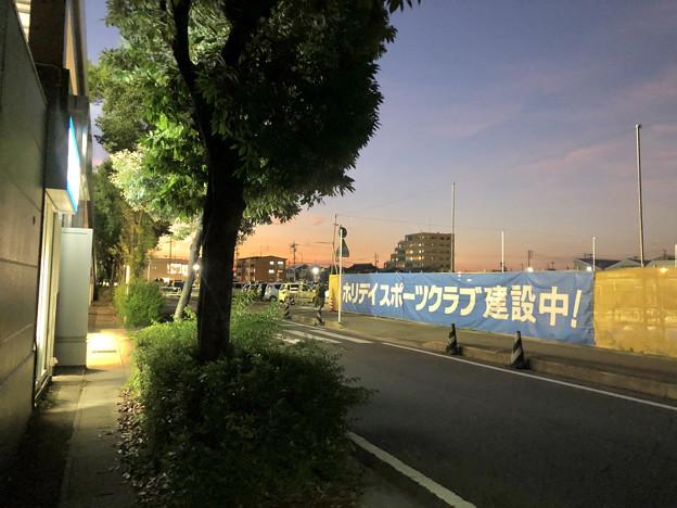 イオン小牧店横にスポーツジム「ホリデイスポーツクラブ」が建設中! - 1