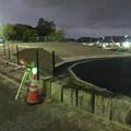 Photos: 桃花台線の桃花台中央公園撤去工事(2019年9月11日):車両基地に入る部分だった撤去場所の舗装 - 1