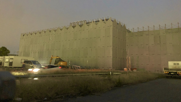 解体工事中の旧ザ・モール春日井(2019年9月21日) - 5