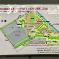 朝宮公園リニューアル工事の計画図