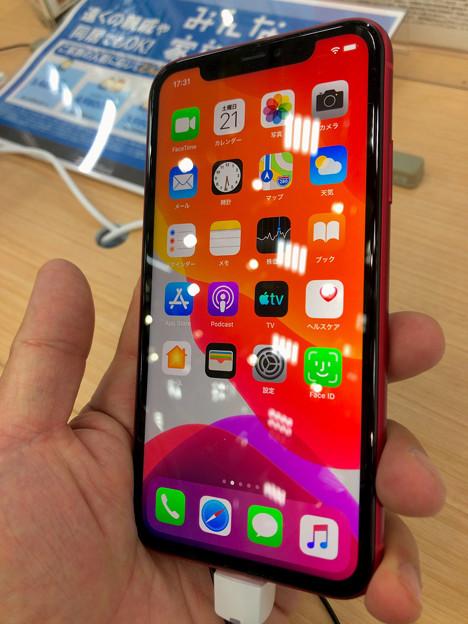 iPhone 11 Product Redモデル No - 1:ホーム画面