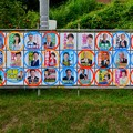 小牧市議会議員選挙 2019のポスター - 6:市長と癒着して市議役割放棄してる議員(赤・オレンジ)と新人議員(青色)