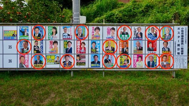 小牧市議会議員選挙 2019のポスター - 8:市長と癒着し市議役割完全放棄してる議員