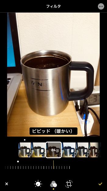 iOS 13 写真アプリ No - 9:写真フィルターの調整が可能に!