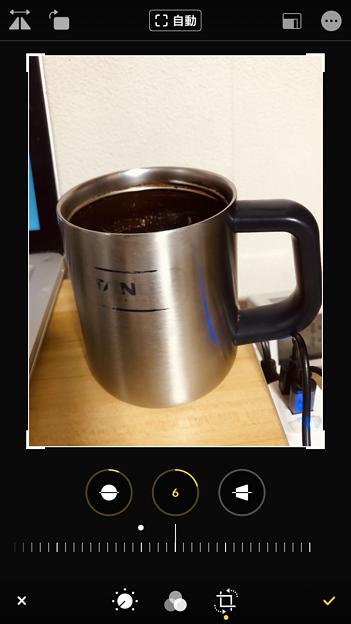 iOS 13 写真アプリ No - 11:写真の歪み補正が可能に!