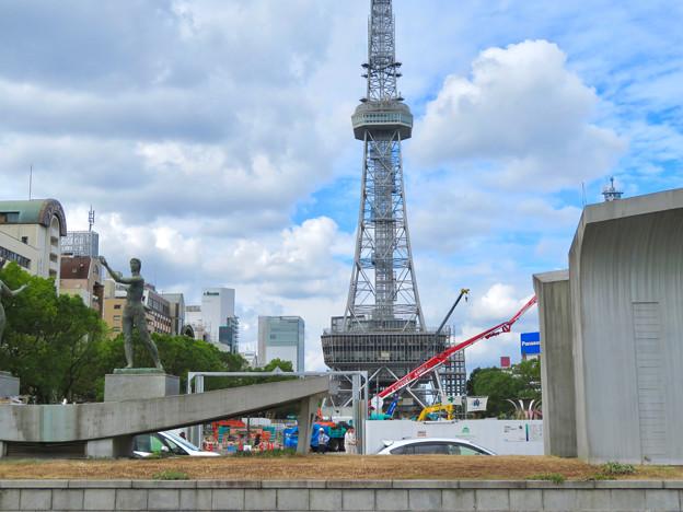 リニューアル工事中の久屋大通公園(2019年9月28日) - 1