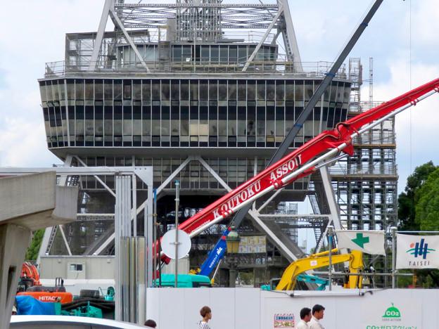 リニューアル工事中の久屋大通公園(2019年9月28日) - 3
