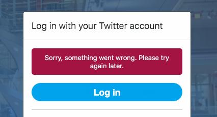 TweetDeckが障害でログインできず(2019年10月2日)- 2