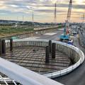神領車両基地近くに建設されてる丸い建造物(2019年10月6日) - 1