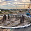 神領車両基地近くに建設されてる丸い建造物(2019年10月6日) - 4