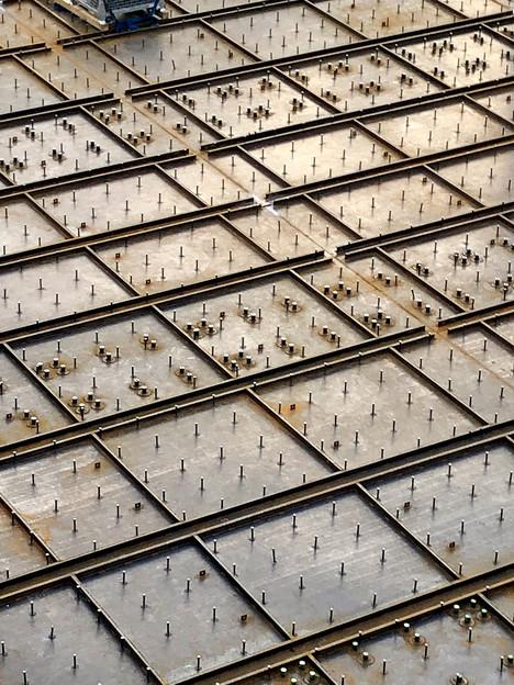 神領車両基地近くに建設されてる丸い建造物(2019年10月6日) - 8
