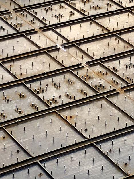 神領車両基地近くに建設されてる丸い建造物(2019年10月6日) - 9