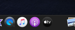 macOS Catalina No - 2:DockにPodcastとTVアプリ