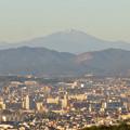 Photos: 東山スカイタワーから見た御嶽山:噴煙と笠雲(レンズ雲)? - 10
