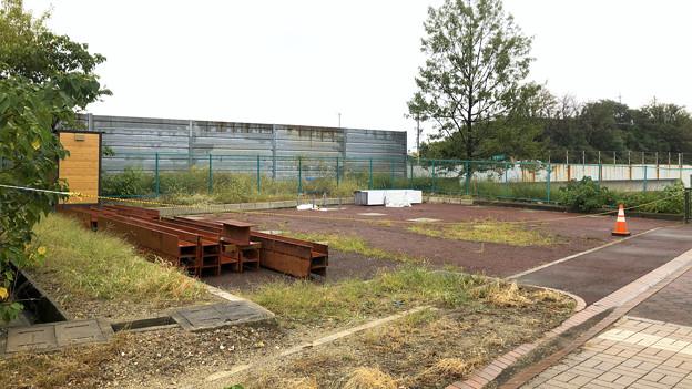 桃花台東駅周辺撤去工事(2019年10月14日):ループ線の撤去も開始? - 8