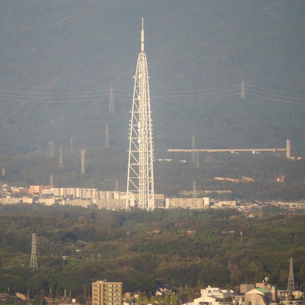 東山スカイタワーから見た景色(2019年10月)No - 8:瀬戸デジタルタワー