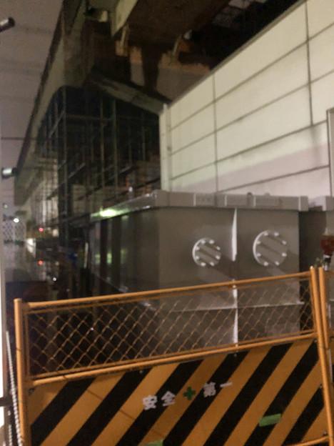 桃花台線の桃花台東駅周辺撤去工事(2019年10月19日) - 4