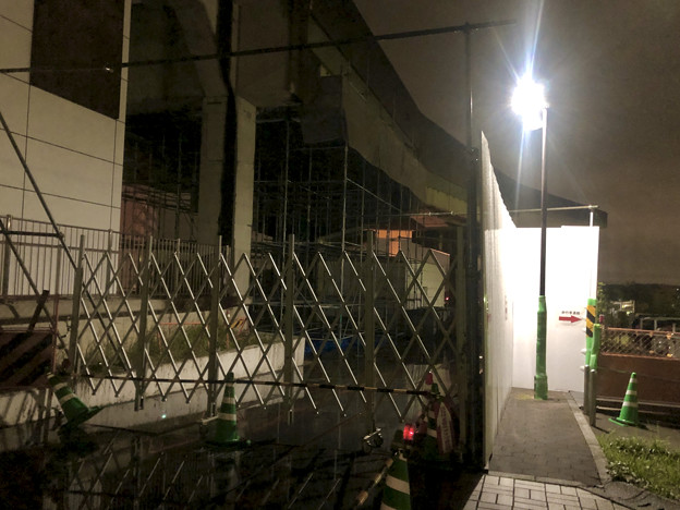 桃花台線の桃花台東駅周辺撤去工事(2019年10月19日) - 6